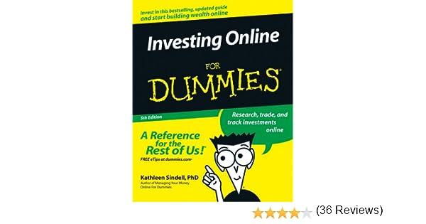 amazon com investing online for dummies ebook kathleen sindell