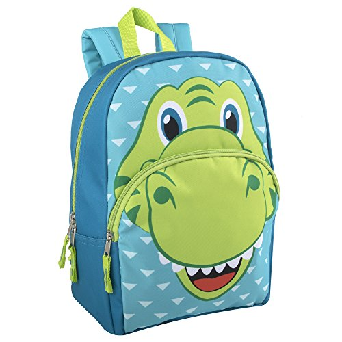 - Animal Friends Critter Backpacks With Reinforced Straps (DINO)