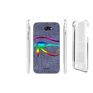 FUNDA CARCASA EFECTO JEANS OCCHIO RAINBOW PARA HTC DESIRE 516