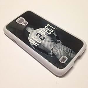 White Case for Samsung Galaxy S4 - Derek Jeter RE2PECT Respect New York Yankees