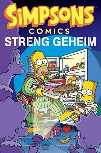 Simpsons Comics Sonderband 21  Streng Geheim