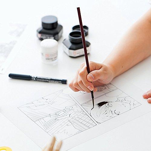 Kuretake-Zig-Cartoonist-Horse-Goat-Hair-Menso-Brush-Fine