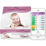 Best Ovulation Predictor Kits - Easy@Home 50 Ovulation Test Strips and 20 Pregnancy Review