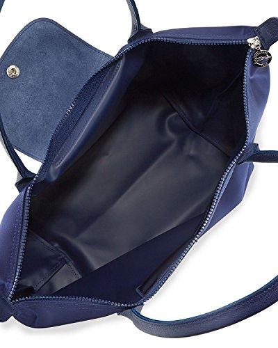 Handbag Le Tote Neo Pliage Longchamp Blue Navy Longchamp Le xw048EqUE
