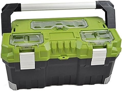 Bulto – Caja de Pesca Caja de herramientas 22 AS – Negro/Verde ...
