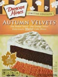 Duncan Hines Limited Edition Autumn Velvets Cake Mix (Pack of 2)