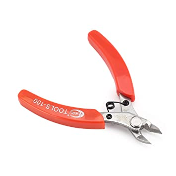 Cortador de alicates de precisión de 125 mm y 5 pulgadas que corta las herramientas de reparación de cables de cobre Tijeras: Amazon.es: Hogar