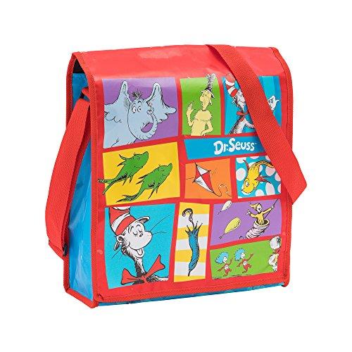 Vandor Dr. Seuss Recycled Messenger Tote (17007) -
