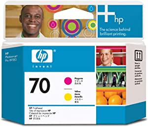 HP 70 Magenta and Yellow Printhead for Use In Select Photosmart Professional Pri