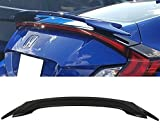 Racingbees Honda Civic 2-Door Coupe OE Factory Style Trunk Spoiler ABS Unpainted 2016 2017 2018