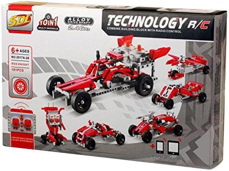 196Pcs Champions Formula One Team F1 Car Building Blocks Set Bricks Blue Toy Kid
