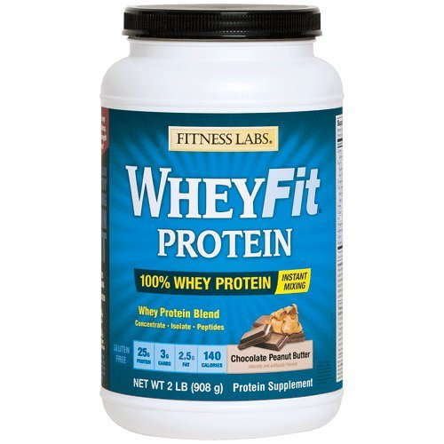 - Fitness Labs WheyFit Protein (2 Pounds, Chocolate Peanut Butter)
