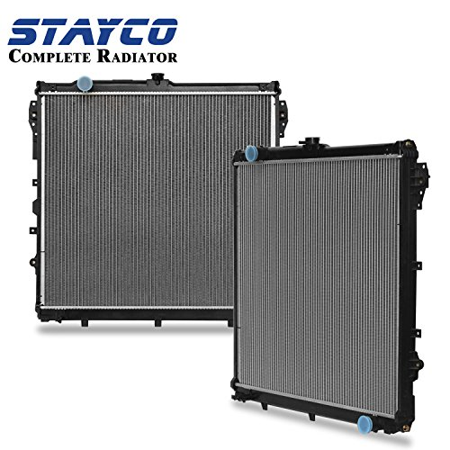 CU2994 Radiator Replacement for Toyota Sequoia 2008-2014/2007-2018 Tundra Base V8 5.7L 4.6L