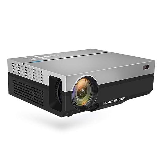 YSCCSY Proyector Full HD Nativo 1080P 5500 Lúmenes Video LED LCD ...