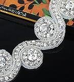QueenDream shining diamond DIY Rhinestone Applique Bridal Accessories For dress accessories-1Yard