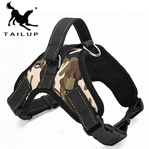 Hotin Adjustable Pet Dog Harness Soft Breathable No Pull Walk Harness Vest Canvas Harness for Small Medium Puppy Pets Products K9