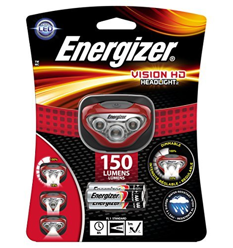 Energizer Vision HD LED Headlamp (Batteries Included) by Energizer