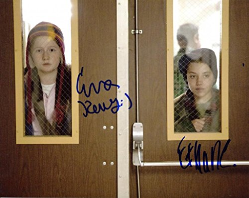EMMA KENNEY & WILLIAM H. MACY signedSHAMELESS 8x10 Photo W/COA - Macys 2 W