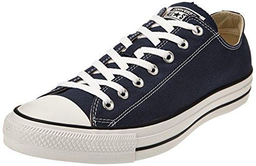 Converse All Star OX - Zapatillas de deporte de lona, unisex Azul (Blue (Navy))
