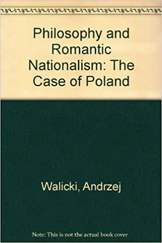 Book Philosophy and Romantic Nationalism: The Case of Poland