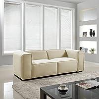 Modern Contemporary Soft Linen Sofa - Beige