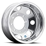 Alcoa 19.5'' x 6.75'' Dura Bright Rear Dual 8 on 275mm GM c4500 / c5500 (765422DB)