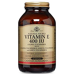 Solgar Vitamin E, 400 IU (d Alpha Tocopherol & Mixed Tocopherols) 250 Mixed Softgels