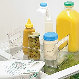 InterDesign Refrigerator and Freezer Storage Organizer Condiment Bin for Kitchen