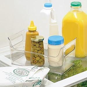 InterDesign Refrigerator and Freezer Storage Organizer Condiment Bin for Kitchen