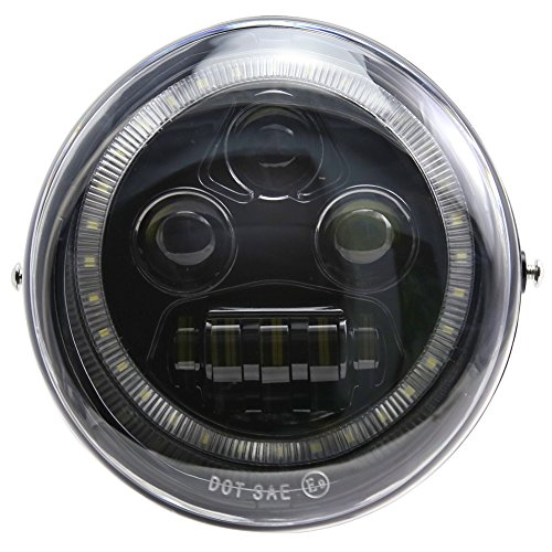 New DRL Angel Eye LED Headlight For Harley-Davidson for sale  Delivered anywhere in USA