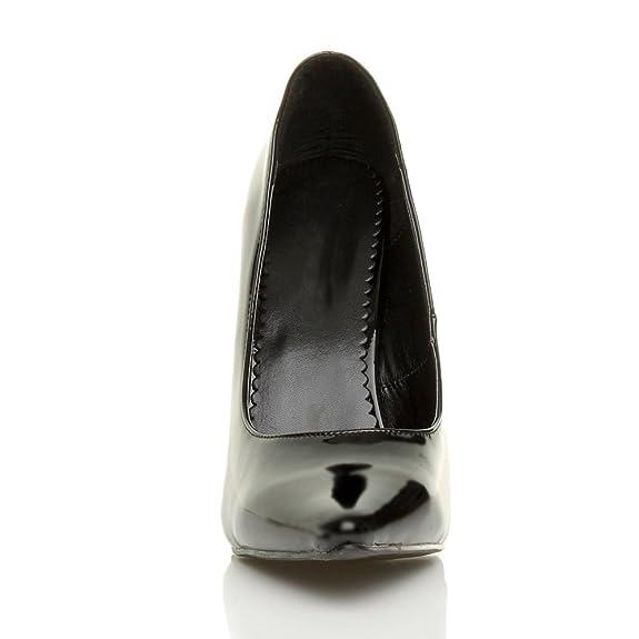 3eb658b1558694 Herren Transvestit Tunte Dragqueen Hoher Absatz Spitze Pumps Schuhe Größen  9 43  Amazon.de  Schuhe   Handtaschen