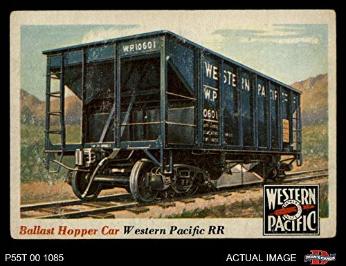 1955 Topps Rails & Sails # 29 Ballast Hopper Car (Card) Dean's Cards 3 - VG 1950893 ()