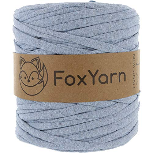 T-Shirt Yarn Cotton Fettuccini Zpagetti Highest Quality ~ 1.4 lbs (700g) and 140 Yards Long (~120 Meter) Sewing Knitting Crochet T Shirt Yarn ()