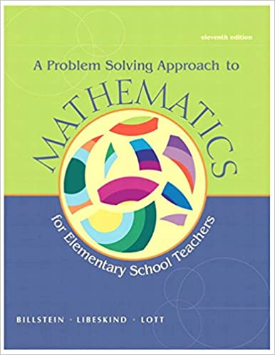 Amazon a problem solving approach to mathematics for elementary amazon a problem solving approach to mathematics for elementary school teachers 11th edition 9780321756664 rick billstein shlomo libeskind fandeluxe Images