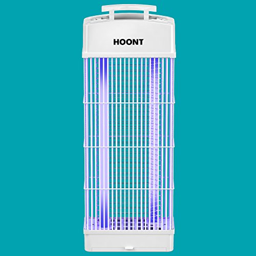 Hoont Standing Electric Indoor Outdoor Fly Zapper And Bug Zapper Trap Catcher Killer With Uv   Protects 6 000 Sq  Ft    Bug And Fly Killer  Insect Killer  Mosquito Killer  For Residential   Commercial