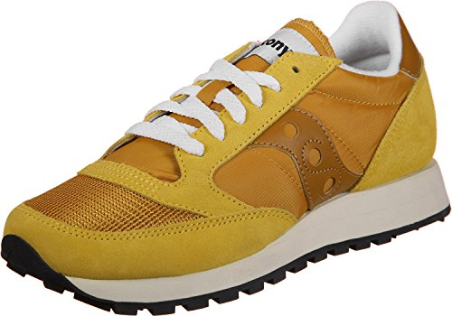 Original Jazz Saucony 29 Giallo Vintage S60368 Womens Suede Trainers PwqqnBUEHx