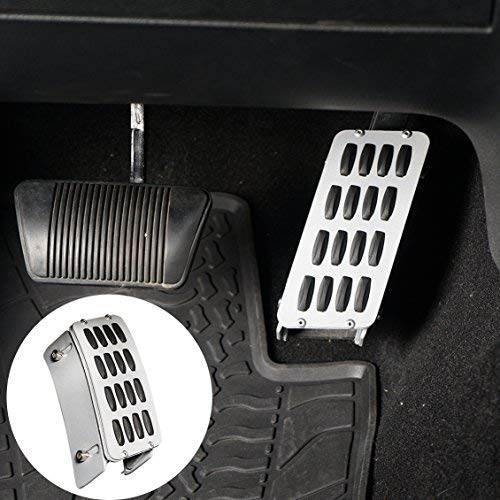 Cover Aluminum Alloy Heightening Pedal for 2007-2018 Jeep Wrangler JK & Unlimited ()