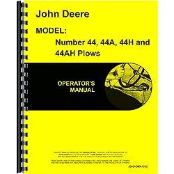John Deere 44 Plow Operators Manual