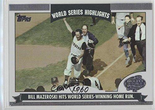 - Bill Mazeroski (Baseball Card) 2004 Topps - World Series Highlights #WS-BM