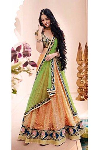 PCC Indian Women Designer Wedding PEACH Lehenga Choli SS-5075