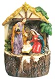 7 Inch Holy Family with Water Fountain Home Decoration
