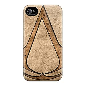 Fashion Vzh3653KCdR Case Cover For Iphone 4/4s(video Games Assassins Creed)