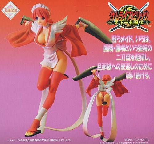 Samurai Spirits 1/8 Scale Pre-painted PVC Figure - Iroha (Red Version)