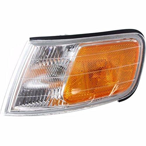 (For 1994-1997 HONDA ACCORD Driver Side OEM Replacement Corner Light FRONT PARK SIGNAL SIDE MARKER LAMP HO2550109)