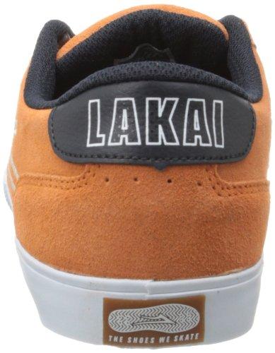 Lakai , Chaussures de skateboard pour homme Orange  orange