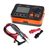 UKCOCO Digital Insulation Resistance Tester Backlight LCD MegOhm Meter
