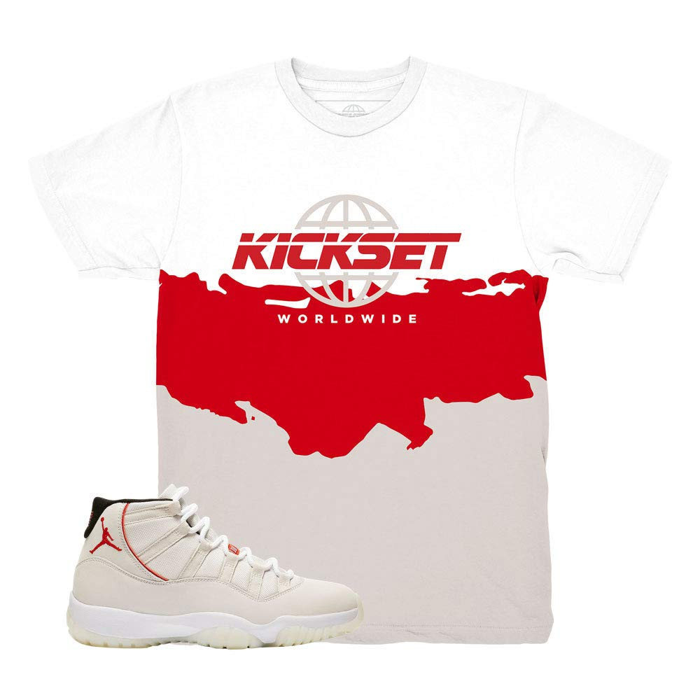 Platinum Tint 11 Kickset Waves Shirt to Match Jordan 11 Platinum Tint Sneakers