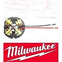 Kohlebürsten Milwaukee Akkuschlagschgrauber Schrauber für 2650-20 C18ID C18PD C18IW MW1