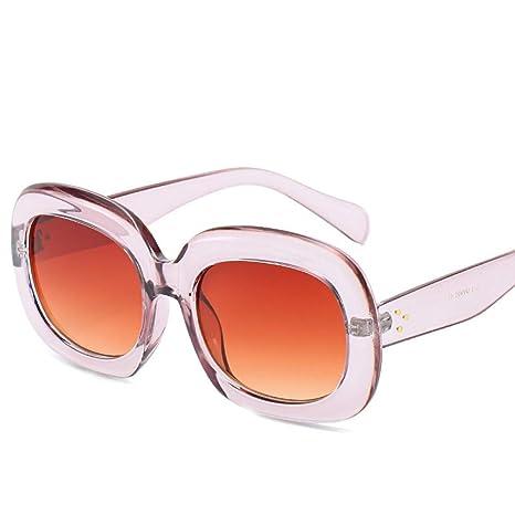 Yangjing-hl Tendencia Caja Gafas Moda Calle Beat Gafas de ...