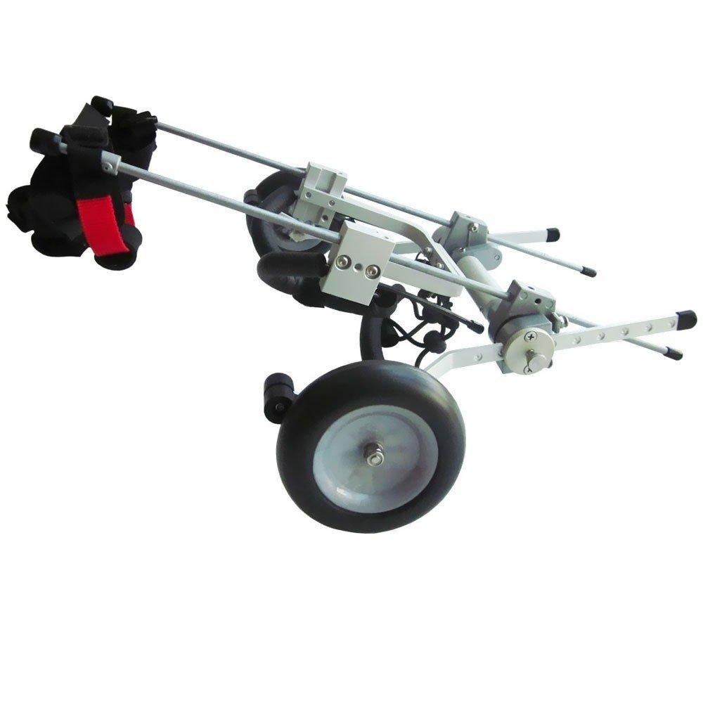 Rollstuhl für Hunde - Größe XXS bis 3kg und Rückenhöhe 20-28cm